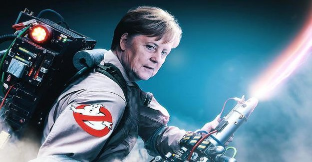 Au bon Temps: La Crise est d'angela Merkel, l'élixir de vie devenu