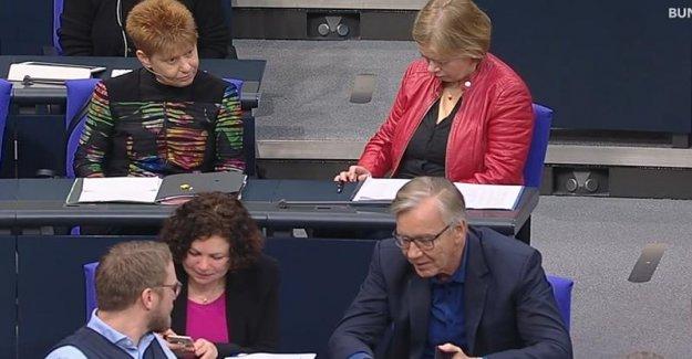 Écœurante Menaces de quitter le Bundestag, le débat porte sur les crimes de haine