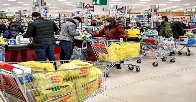 En raison de Hamsterkäufen bientôt (pas de Nourriture plus dans les magasins Discount? - Expert, la fin de l'alerte