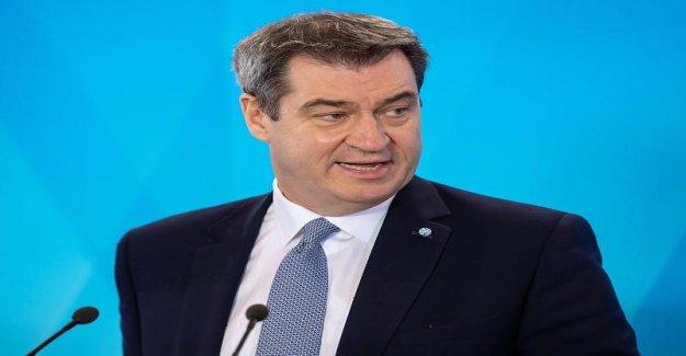 La bavière, le premier Ministre Söder sur la Situation dans l'etat libre: Il n'y a pas lieu à la fin de l'alerte