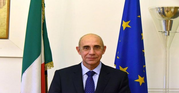 L'ambassadeur allemand Comportement laisse en Italie n'est pas bonne Impression