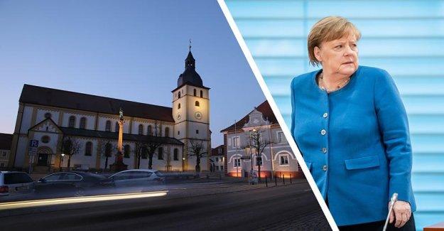 Merkel indique Söder menace: Pourquoi l'Allemagne, avec couvre-feu pour proie