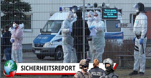 Nombre de la Couronne de Cas augmente, la Peur de La Pandémie en allemand Asylheimen