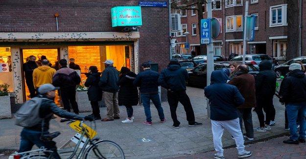 Pas sans mon Herbe: Néerlandais hamsters Cannabis avant la Fermeture des coffee-Shops