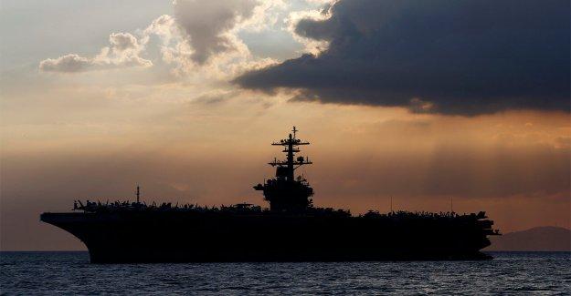 L'USS Theodore Roosevelt voit 93 marins avec des coronavirus,; ne pas être résolue dans quelques jours