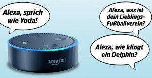 Amazones Sprachassistent Alexa: 20 Énonciations...