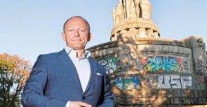 Bismarck Monument: Ce qui se passe avec le Socle?