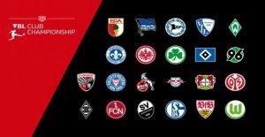 E-Sport FIFA/19: il est virtuel, Bundesliga, Club de Championship