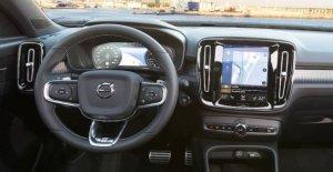 Infotainment de la Volvo XC 40: Une Voiture qui, par Application des Amis permet de donner