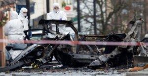Irlande du nord: la Police soupçonne Nouvelle IRA après l'Attentat à Derry