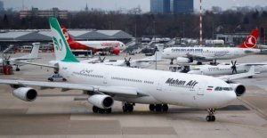 La ligne aérienne de Mahan Air: Gouvernement fédéral prévoit des Sanctions contre l'Iran