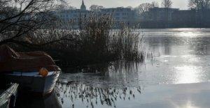 Météo: Malgré glacé des Températures Risque sur la Glace mince