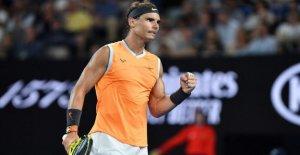 Open d'australie: Rafael Nadal fait peu de Processus avec Francis Tiafoe