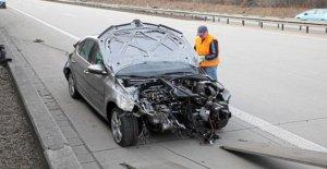 Admis à 120 km/h: Radars Accident avec un Tempo de 246!