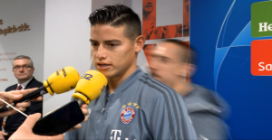 Bayern munich: Franck Ribéry dérange James lors d'Eloge sur le Real Madrid