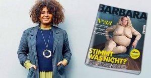Curvy Magazine-rédactrice en chef de l'IMAGE: Barbara, TU n'es pas épaisse!