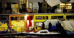 Ex-Jugendfreizeitschiff: la Police reconnaît Corsaires dans le quartier de Friedrichshain