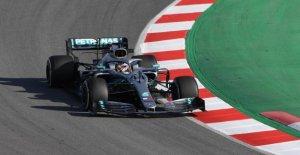 Formule 1-Essais de Barcelone, Lewis Hamilton propose de Champion du monde d'Alarme