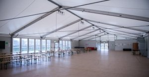 Grevenbroich ne veut plus utilisée Flüchtlingshallen vendre