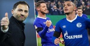 Schalke 04: Kutucu et Uth prévoit Tedesco, les Anti-Descente-Victoire