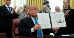 US Space Force: Trump existe Lancement de l'Espace de l'Armée