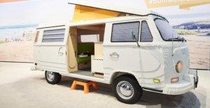 VW Bulli-camping-car à partir de Lego: Fend la Réplique le Record du monde?