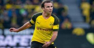 BVB: Mario Götze en forme pour le VfL Wolfsburg