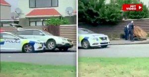 Christchurch, nouvelle-Zélande: Deux Dorfpolizisten ont commencé Terroriste Brenton Tarrant