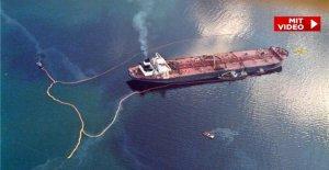 Comme un PHOTO-Reporter le Pétrolier de la catastrophe de l'Exxon Valdez a connu