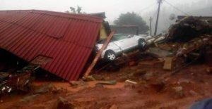 Cyclone Idai qui fait rage dans le Mozambique et le Zimbabwe: 1000 Victimes craint