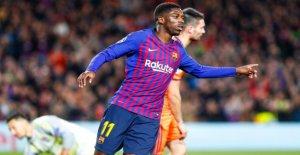 FC Barcelone: Ousmane Dembélé tombe...