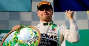 Formule 1: Valtteri Bottas à Expresso tour de l'Australie Victoire