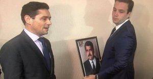 Guaidó-Messager de prendre du venezuela, Représentations aux états-UNIS