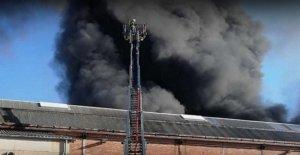 Homburg: Mega-nuage de Fumée sur le terrain de l'Entreprise