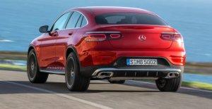 Mercedes GLC Coupé Facelift (2019): à Partir de l'Été avec MBUX