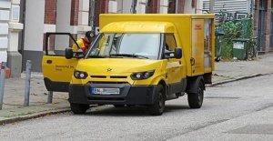 Risque d'incendie! Deutsche Post définit 460 Streetscooter Voitures pour l'instant en silence