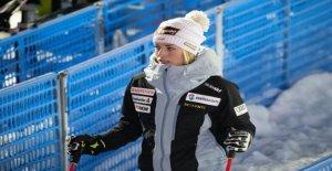 Ski: Lara Gut-Behrami manqué la Coupe du monde de la Finale de la! - Vue
