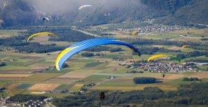 Suisse Touriste meurt en Parapente...