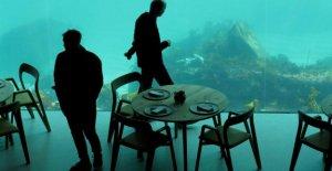 Under dans Lindesnes: le Premier sous-Restaurant en Norvège