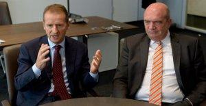 VW-assemblée générale: le président-Directeur général Diess contre le Comité d'entreprise