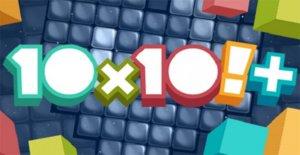 10x10 gratuit de casse-tête, Jeu de point Culminant