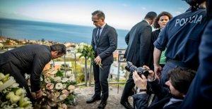 Accident de car sur l'île de Madère: Heiko Maas pleure sur Place pour les allemands de la Victime