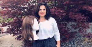 Action de dons: les Femmes donner des Perruques à Krebspatientinnen