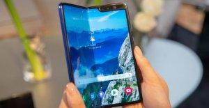 Affichage de Dommages causés lors de la Galaxy Fold: Samsung Pliante Portable rend la Flexion!