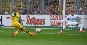 Bundesliga: DORTMUND Gala après de Bus Mésaventure, à Fribourg, Vue
