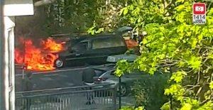 Dortmund – Pompiers sauve Morts de Corbillard