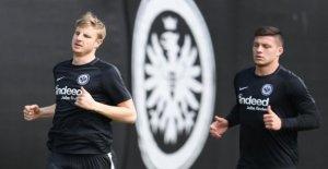 EINTRACHT FRANCFORT: Martin Hinteregger se bat pour Benfica-Jeu