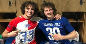 Europa League: Chelsea, David Luiz prend de David Luiz