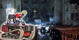 Incendie à Notre-Dame (Paris): Ce Robot a permis à l'Extinction