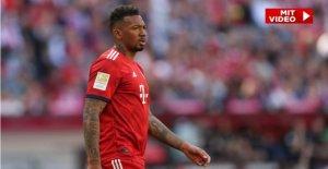 Jérôme Boateng: le Bayern munich Joueurs de parler de sa gravité Kovac-Temps